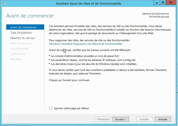 tutoriel active directory secondaire sous windows server 2012