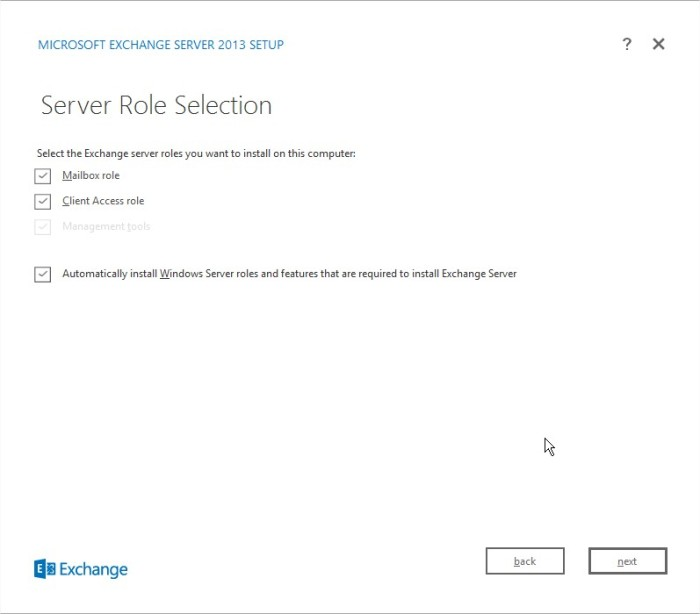 Exchange Server Setup5
