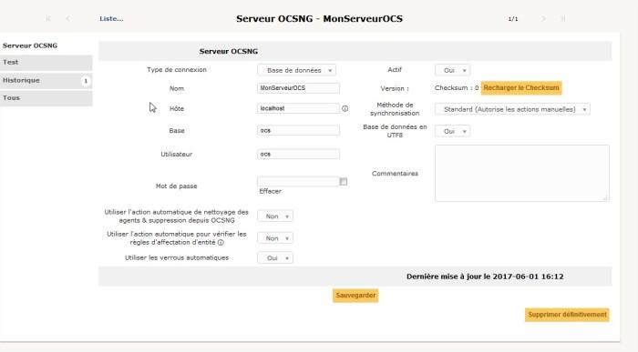 GLPI - OCS Inventory NG - 1 - Mozilla Firefox