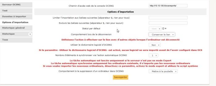 GLPI - OCS Inventory NG - 1 - Mozilla Firefox45