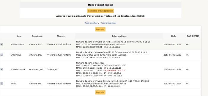 GLPI - OCS Inventory NG - Mozilla Firefox76