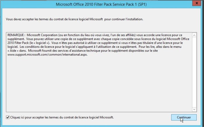 Microsoft Office 2010 Filter Pack Service Pack 1 (SP1)