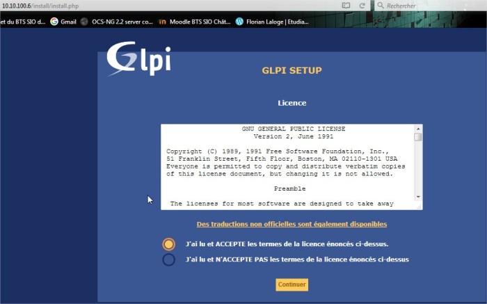 Setup GLP2I - Mozilla Firefox