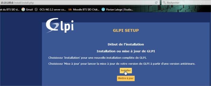 Setup GLPI3 - Mozilla Firefox